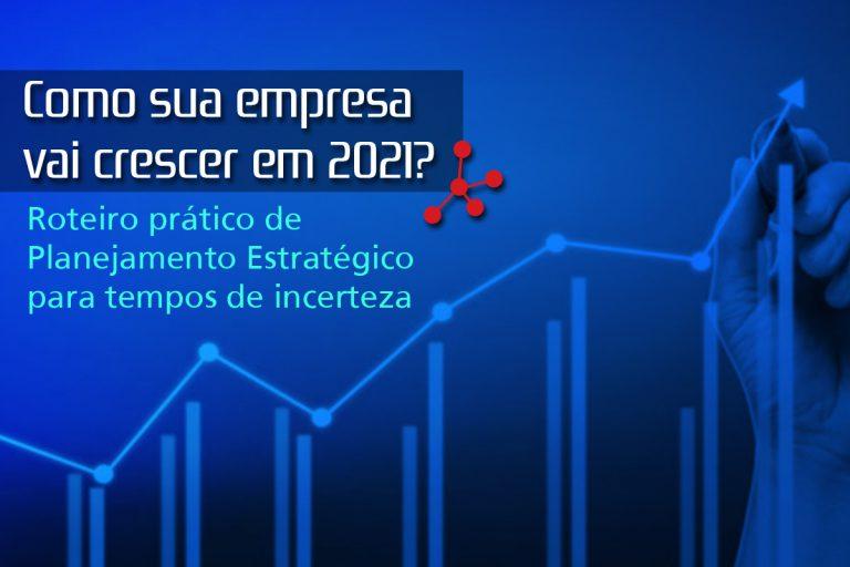 Como sua empresa vai crescer em 2021? Roteiro prático de Planejamento para tempos de incerteza